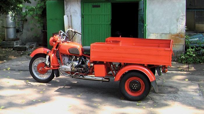Грузового мотоцикла урал71